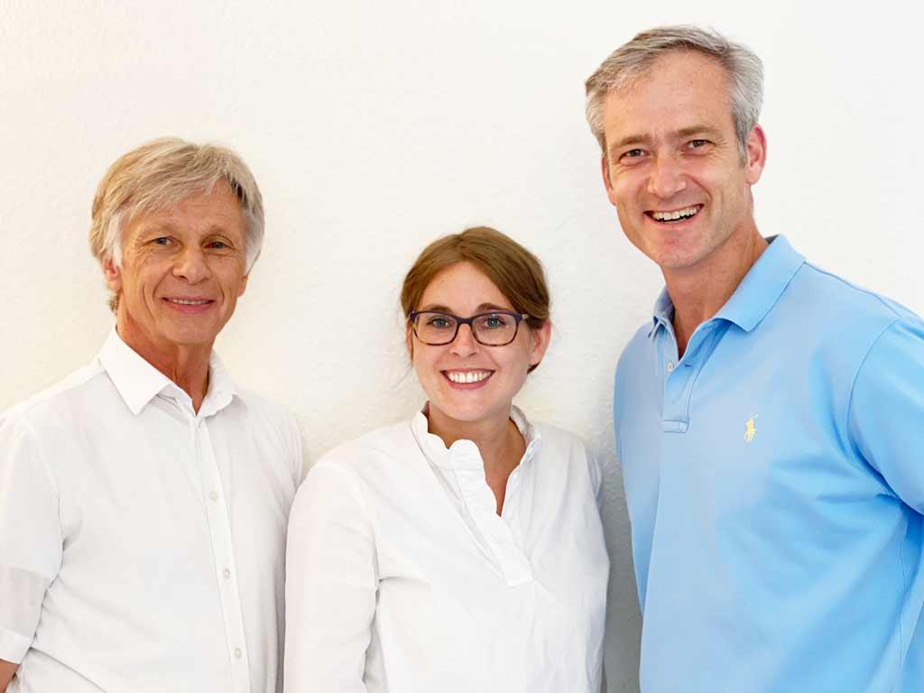 Hans-Joerg Fries, Dr med. Sven-Ulrich Winter, MUDr. Caroline Faure Hausarztpraxis Jesteburger Strasse